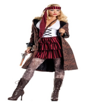 Provocative Pirate Adult Costume