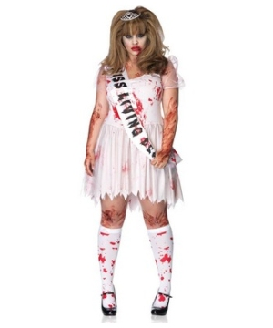 Putrid Prom Queen Adult plus size Costume