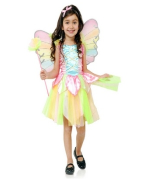 Rainbow Princess Fairy Toddler Costume