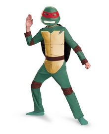 Teenage Mutant Ninja Turtles Raphael Animated Kids Costume