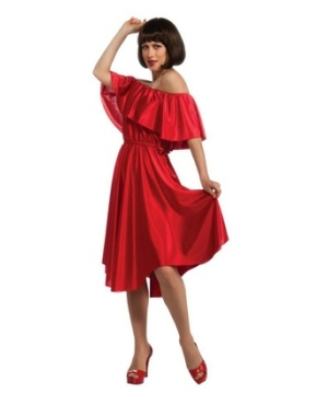 Red Dress Womens Costume