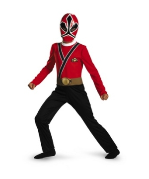 Power Rangers Samurai Red Ranger Costume