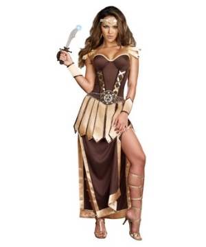 Remember the Trojans Gladiator Womens Costume
