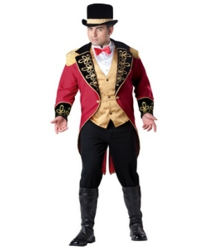 Ringmaster Men plus size Costume