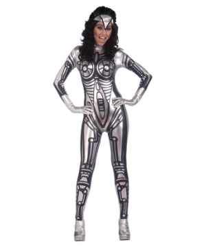 Female Robot Adult Costume