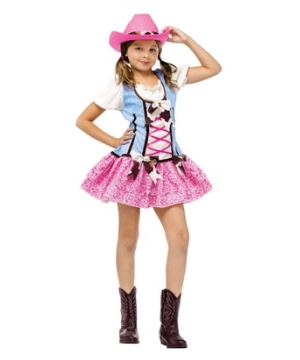 Rodeo Sweetie Kids Costume
