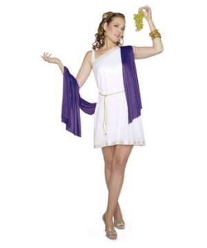 Roman Goddess Women Costume