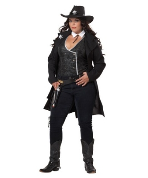 Round Em up Adult plus size Costume