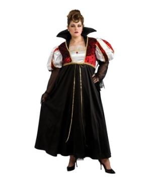 Royal Vampira plus Women Costume