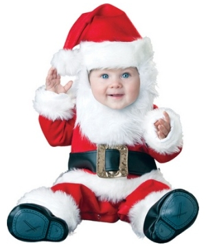 Little Santa Baby Costume