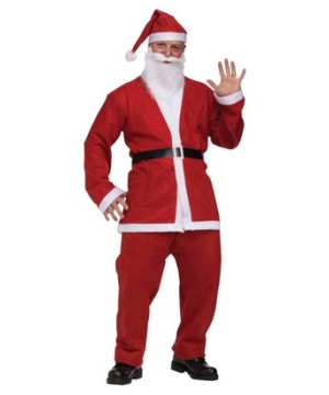 Santa Pub Crawl Adult Costume