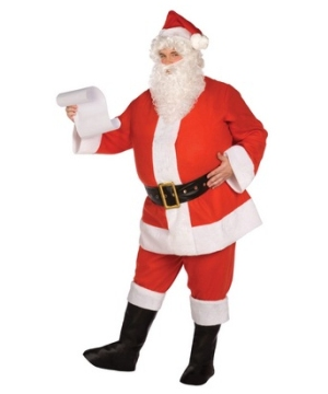 Santa Suit Adult plus size Costume