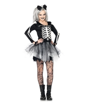 Sassy Skeleton Teen Costume