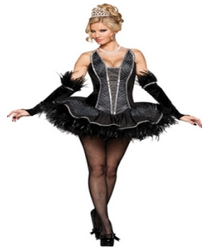 Seductive Swan Women Costume