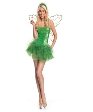 Sequin Fairy Women Costume