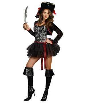 womens pirate provocateur costume