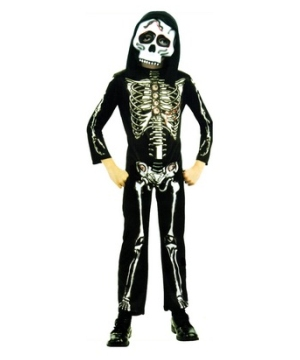 Skeleton Kids Costume