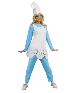Smurfette Adult Costume