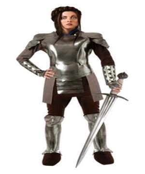 snow white armour women costume