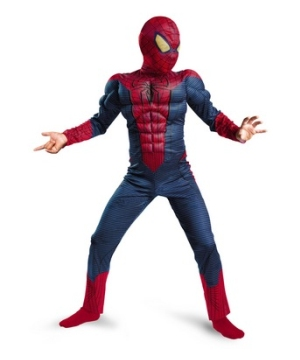 The Amazing Spiderman Muscle Kids Costume