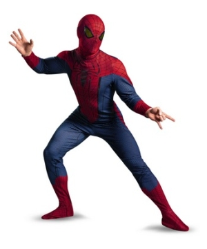 The Amazing Spiderman Adult Costume deluxe
