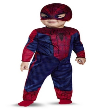 The Amazing Spiderman Baby Costume