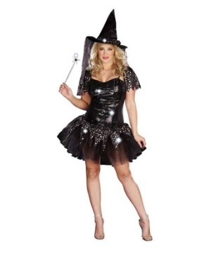 Starry Night Witch Adult plus size Costume