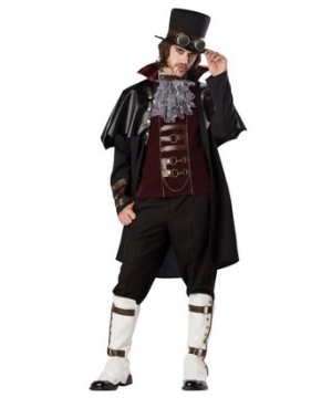 Steam-punk Victorian Vampire Adult plus size Costume