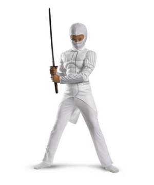 G.i. Joe Storm Shadow Muscle Boys Costume