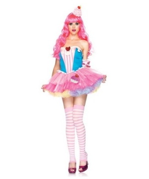 Sugar and Spice Cupcake Adult Costume