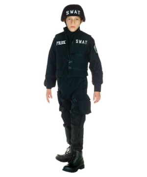 Swat Kid Costume