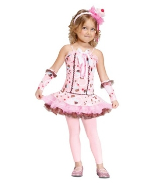 Sweet Cupcake Kids Costume