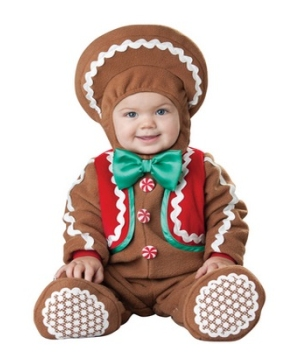 Sweet Gingerbaby Baby Costume