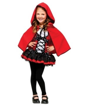 Sweet Red Hood Girls Costume