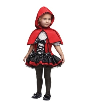 Sweet Red Hood Toddler Costume