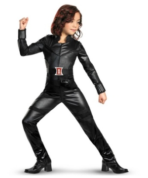 The Avengers Black Widow Kids Costume deluxe