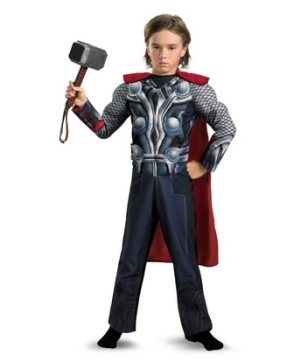The Avengers Thor Light up Muscle Kids Costume