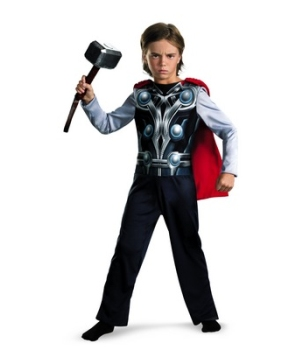 Avengers Thor Muscle Kids Costume