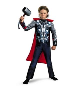 Avengers Thor Muscle Boys Costume