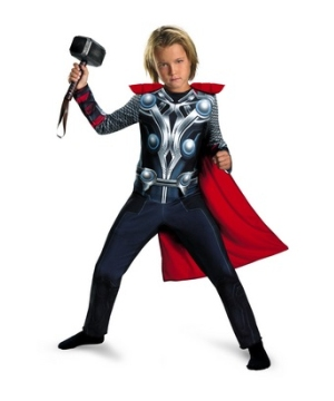 The Avengers Thor Boys Costume