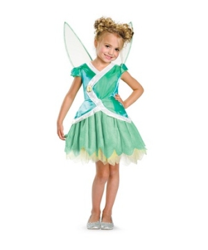 Tinkerbell Disney Girls Costume