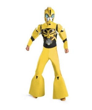 Transformers Bumblebee Animated Kids Costume deluxe