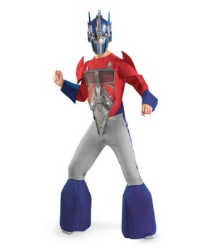 Transformers Optimus Prime Animated Kids Costume deluxe