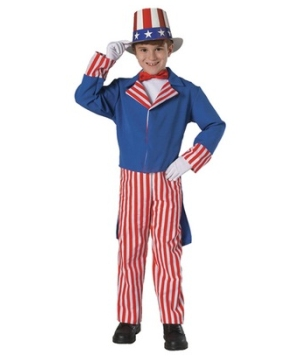 Uncle Sam Kid Costume