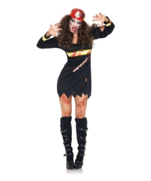 Undead Fire Starter Adult Costume