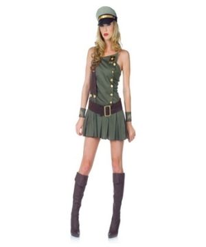 Sexy Us Army Women Costume
