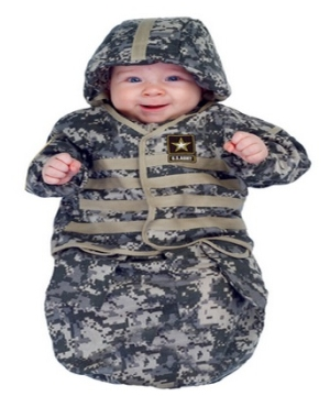 Little Us Army Baby Costume