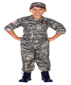 Us Army Boys Costume