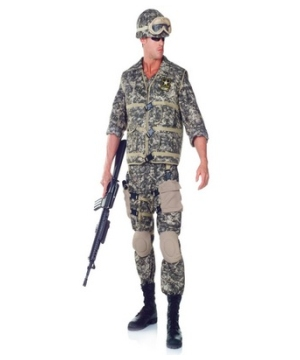 U.s. Army Soldier Men Costume deluxe
