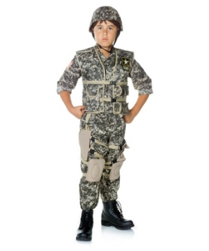 Us Army Ranger Kid Costume deluxe